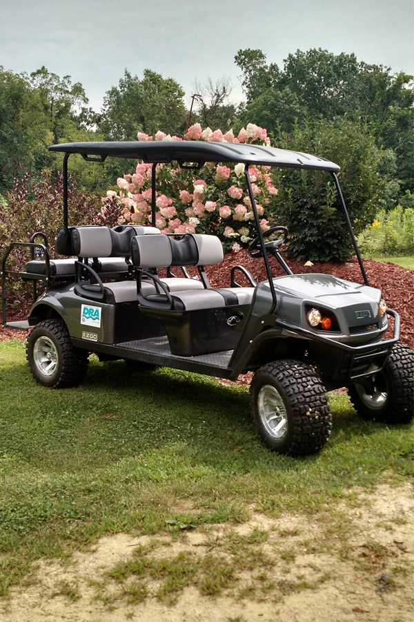 Funded Golf Cart